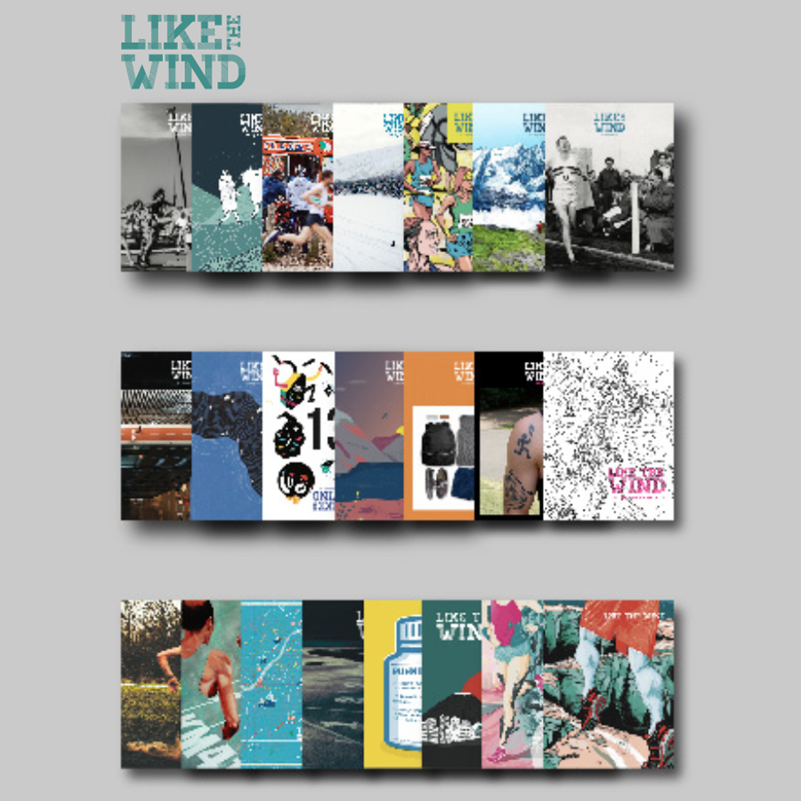 Like The Wind Magazine will also provide each winner with a copy of it's upcoming Issue #25 which features the 4 Years Ago Project.